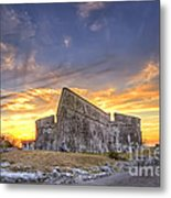 Sunset At Fort Fincastle Metal Print