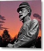 Sunset At Gettysburg  Metal Print