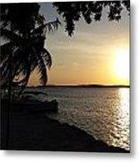 Sunset At Islamorada Metal Print