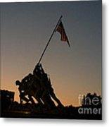 Sunset At Iwo Jima  Metal Print