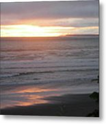 Sunset At Kalaloch Metal Print