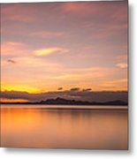 Sunset At Lake Titicaca - Peru Metal Print