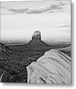 Sunset At Monument Valley, Monument Metal Print