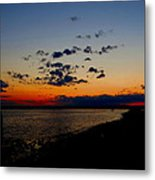 Sunset At Nathan Hale Metal Print