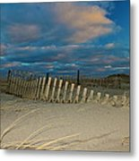 Sunset At Nauset Beach Cape Cod Metal Print