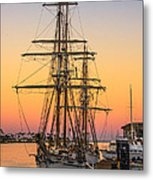 Sunset At San Pedro Metal Print