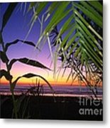 Sunset At Sano Onofre Metal Print