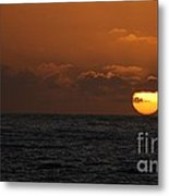 Sunset At St Ives Metal Print