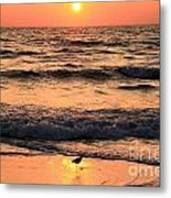 Sunset At St. Joseph Metal Print