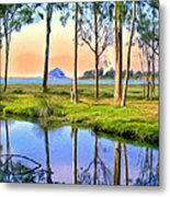 Sunset At Sweet Springs Metal Print