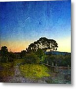 Sunset At The Baylands Metal Print