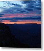 Sunset At The Grand Canyon Metal Print
