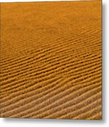 Sunset At The Great Sand Dunes National Metal Print