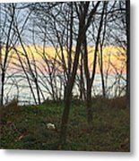 Sunset At The Island Metal Print