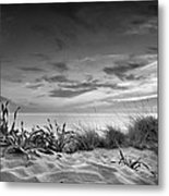 Sunset At The Mediterranean Sea Metal Print