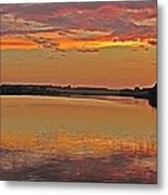 Sunset At The Rostavytsia_1 Metal Print