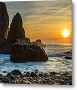Sunset At The World's End II Metal Print