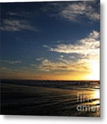 Sunset At Westport Beach Metal Print