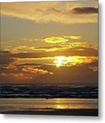 Sunset At Westport  Metal Print