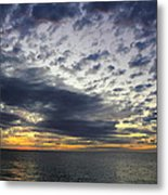 Sunset Beach Hawaii Metal Print