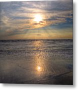 Sunset Beauty Metal Print