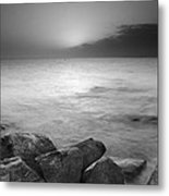 Sunset Before The Storm Metal Print