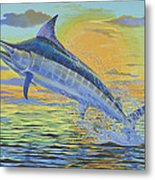Sunset Blue Off0085 Metal Print