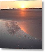 Sunset By Jan Marvin Metal Print