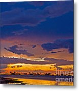 Sunset By The Bay Metal Print
