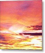 Sunset, Canyon De Chelly, Arizona, Usa Metal Print