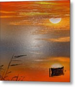 Sunset Charm, 30 Landscape Wall Art Painting Pack  Sunset-sunrise, Evening, Sea, Water, Ocean Etc  Metal Print