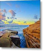 Sunset Cliffs Ave Metal Print