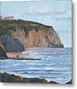 Sunset Cliffs Ca Metal Print