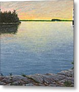 Sunset Cruise Metal Print