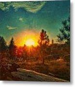 Sunset Metal Print by Dan Quam