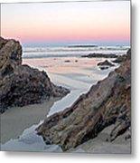 Sunset  Denhams Beach. Metal Print