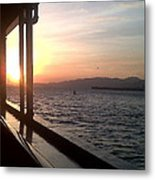 Sunset Down The Islands Metal Print