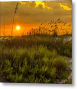 Sunset Dunes Metal Print by Marvin Spates