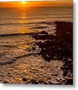 Sunset Far Away Metal Print