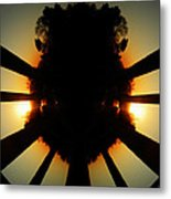 Sunset Folly Metal Print
