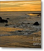 Sunset From Damon Point Metal Print