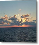 Sunset From The Carnival Triumph Metal Print