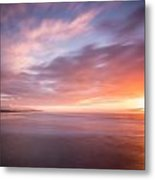 Sunset From The South Jetty Metal Print