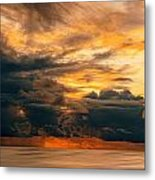 Sunset Grandeur Metal Print