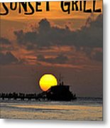 Sunset Grill Don Henley 1984 Metal Print
