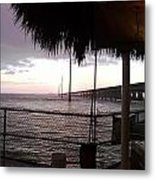 Sunset Grill.2 Metal Print by Susan Sidorski