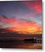 Sunset Handry's Beach Metal Print