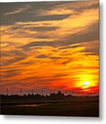 Sunset In Avalon Metal Print