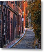 Sunset In Beacon Hill Metal Print