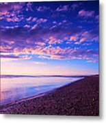 Sunset In Cape Cod Boston Massachusetts  Metal Print